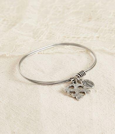 Quinn & Copper Cross Bracelet