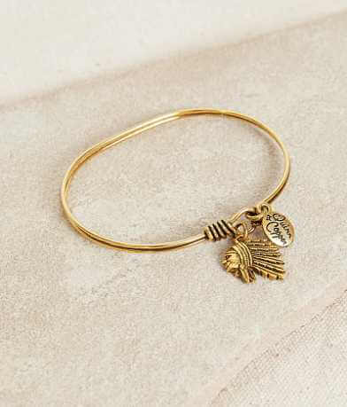 Quinn & Copper Indian Chief Bracelet