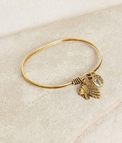 Quinn & Copper Indian Chief Bracelet