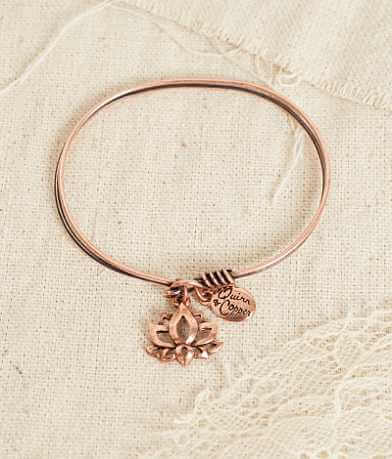 Quinn & Copper Lotus Bracelet