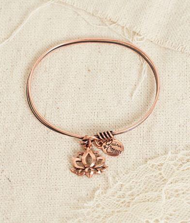 Quinn & Copper Lotus Bracelet