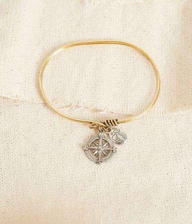 Quinn & Copper Compass Bracelet