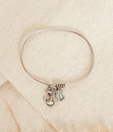 Quinn & Copper Anchor Bracelet