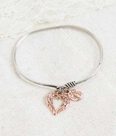 Quinn & Copper Wings Bracelet