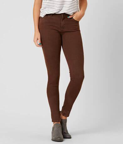 JUST BLACK Mid-Rise Skinny Stretch Jean