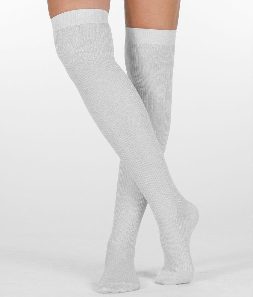 K. Bell Metallic Socks front view
