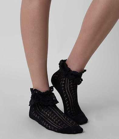 K. Bell Open Weave Socks