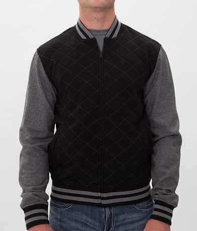 Charles & A Half Quilted Varsity Jacket