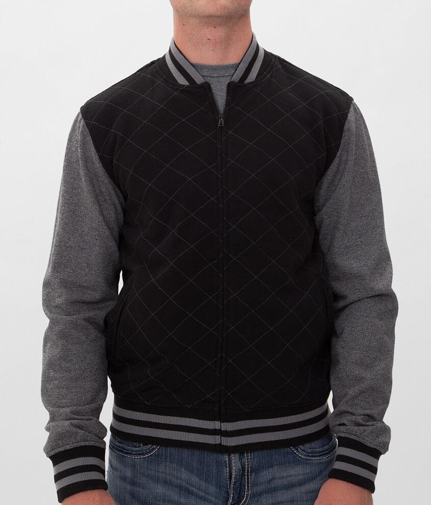 Charles A Half Quilted Varsity Jacket Mens Coatsjackets In
