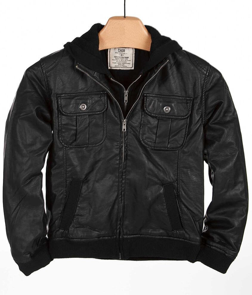 Boys - Chor Parker Jacket front view
