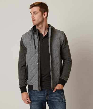 Departwest Quilted 2-Fer Jacket