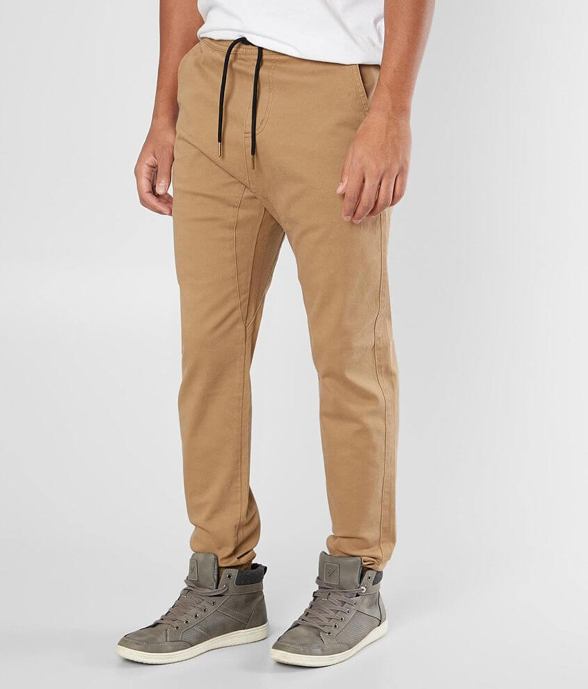 Departwest Twill Jogger Stretch Pant front view