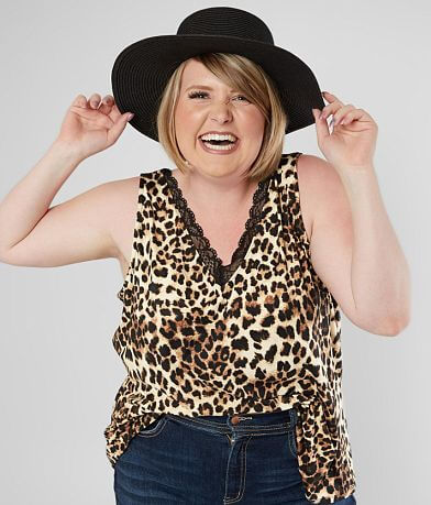 Willow & Root Animal Tank Top - Plus Size Only