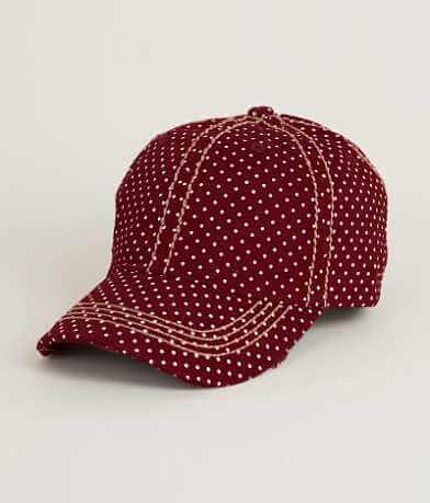 Polka Dot Baseball Hat