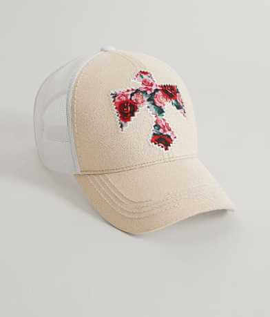 Floral Bird Baseball Hat