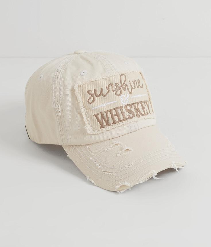 Sunshine & #38 Whiskey Hat