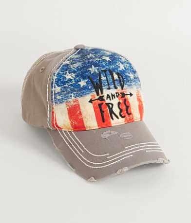 BKE Free Americana Baseball Hat
