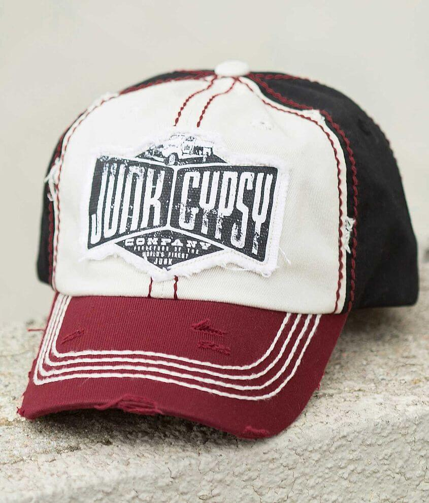 Junk Gypsy Raw Edge Hat front view