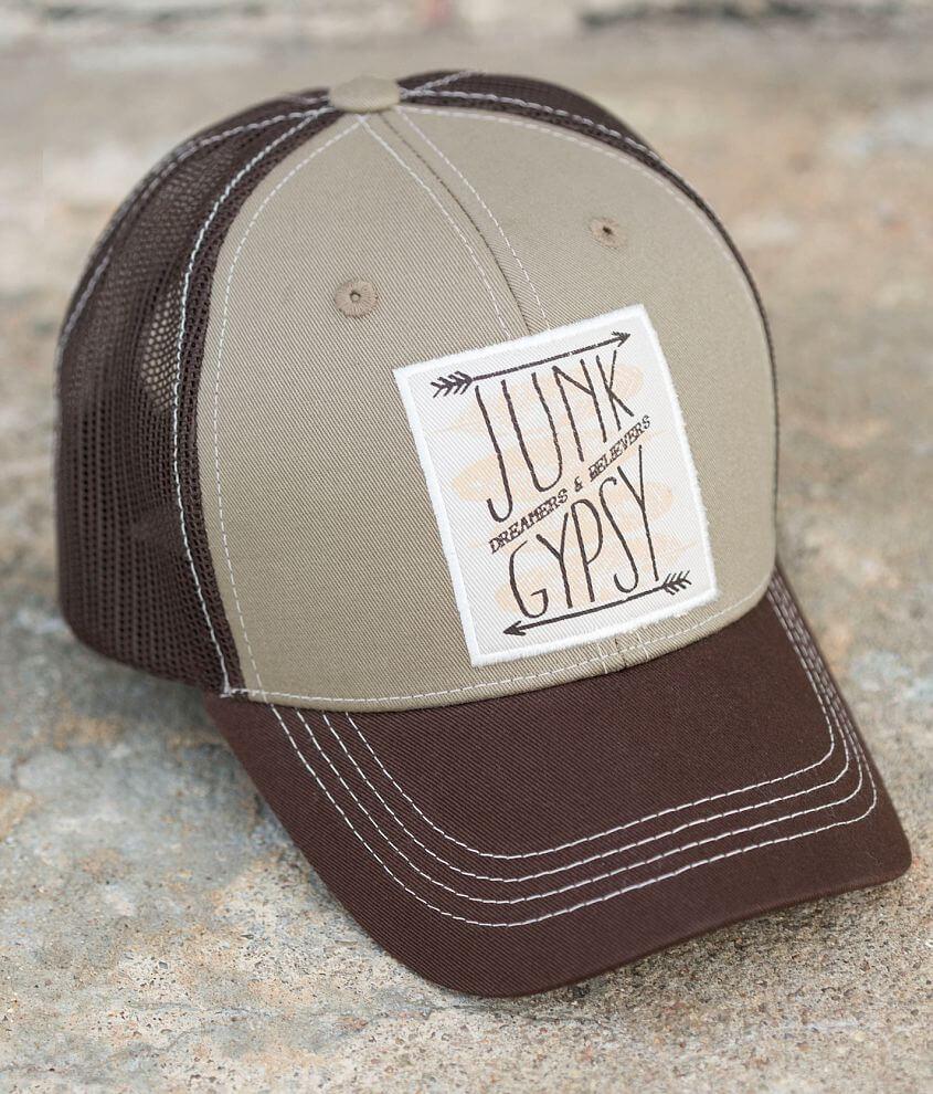 Junk Gypsy Mesh Trucker Hat front view