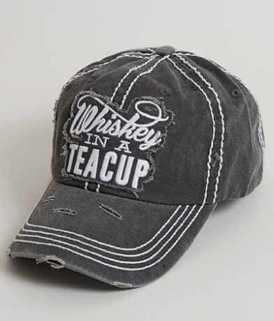 Junk Gypsy Whiskey In A Teacup Baseball Hat
