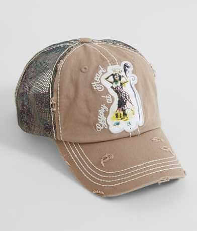 Junk Gypsy At Heart Trucker Hat