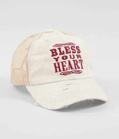 Junk Gypsy Bless Your Heart Baseball Hat