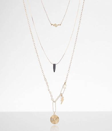 BKE Charm Necklace Set