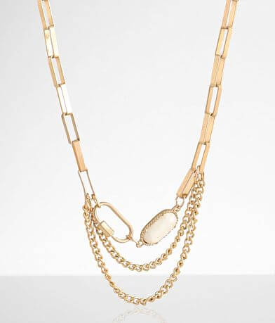 BKE Chain Link Necklace