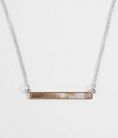 BKE Abalone Bar Necklace