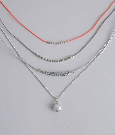 BKE Tiered Pendant Necklace