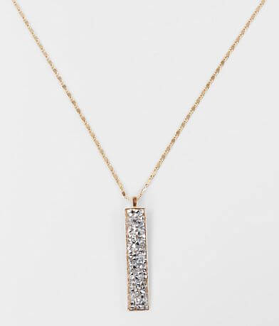 BKE Glitz Pendant Necklace