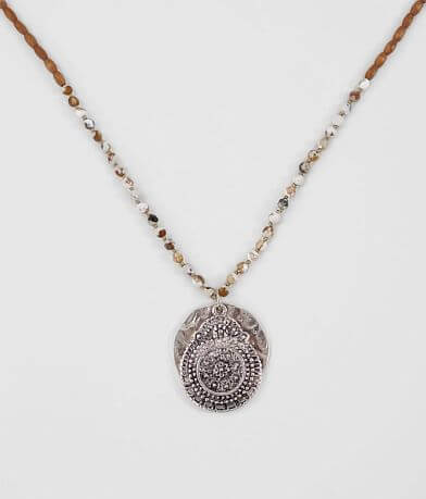BKE Beaded Pendant Necklace