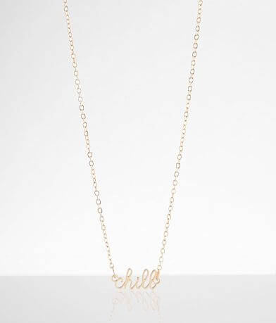 BKE Dainty Chill Necklace