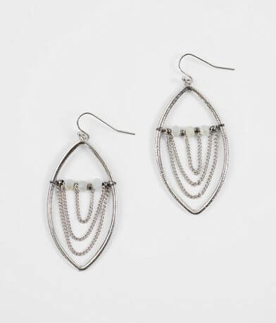 BKE Oval Drop Earring