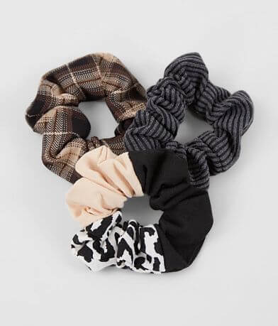 3 Pack Assorted Hair Scrunchies