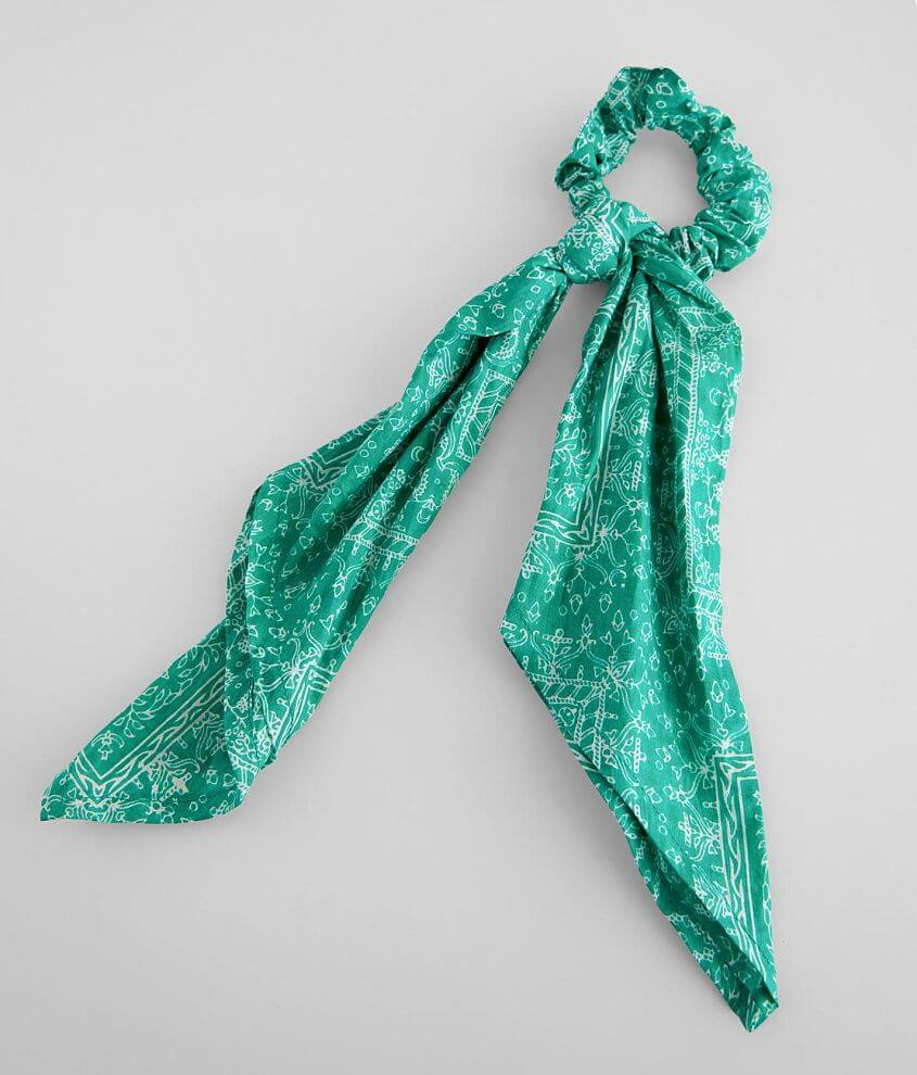 Paisley Hair Scarf front view