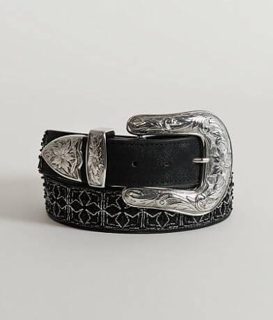 BKE Leather Glitz Belt