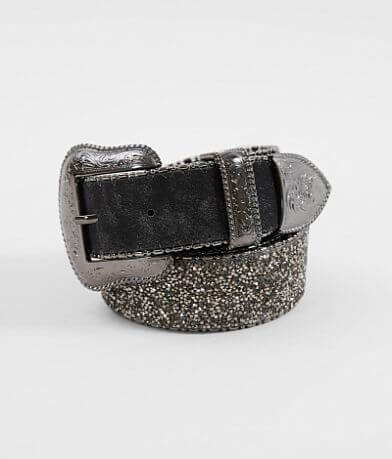 BKE Micro Glitz Leather Belt