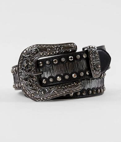 BKE Glitz Leather Belt