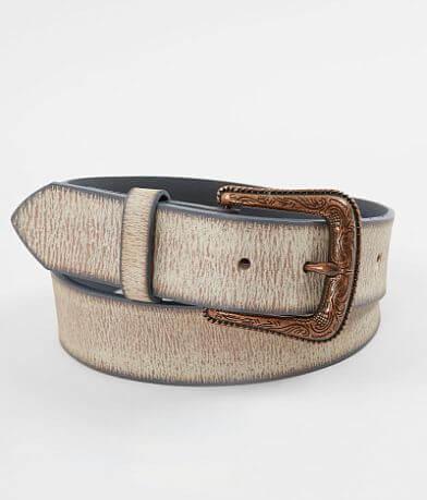 BKE Washed Leather Belt