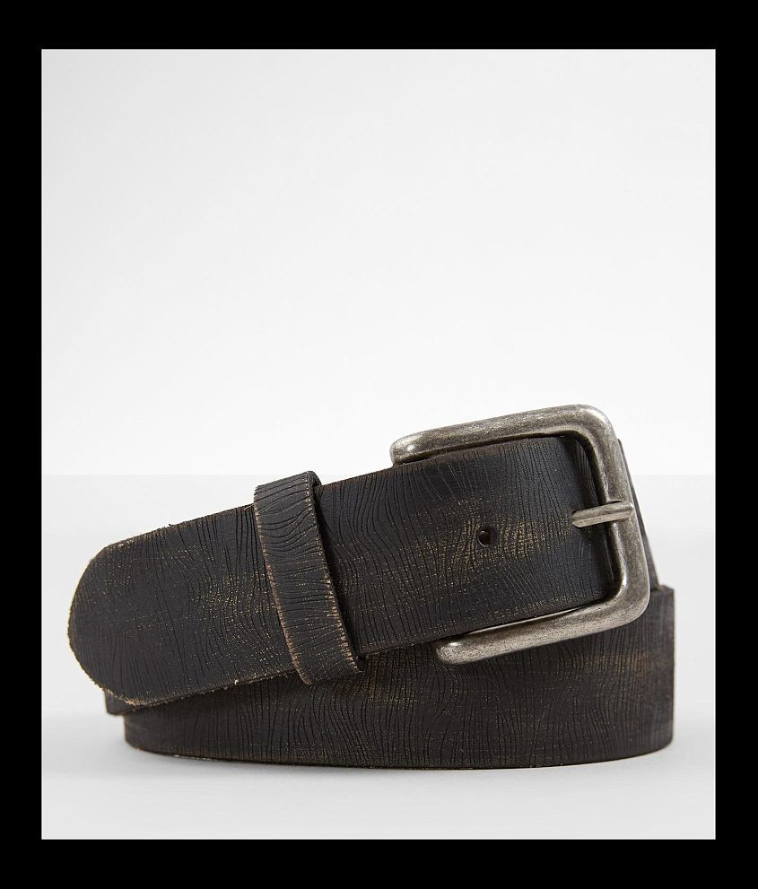 BKE Grainy Leather Belt front view