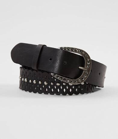 BKE Cut-Out Leather Belt