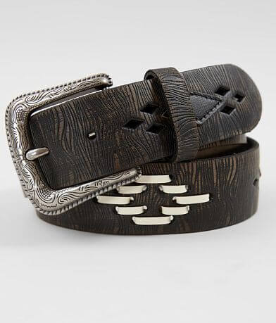 BKE Embroidered Leather Belt