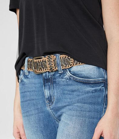 BKE Guatemalan Whipstitch Leather Belt