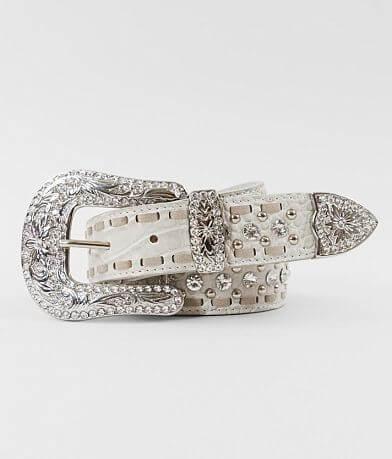 BKE Glitz Western Leather Belt
