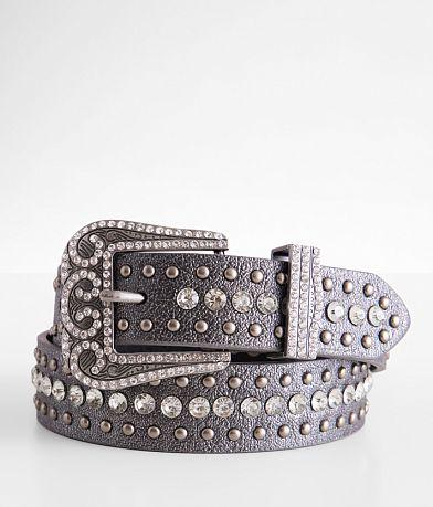 BKE Metallic Leather Belt
