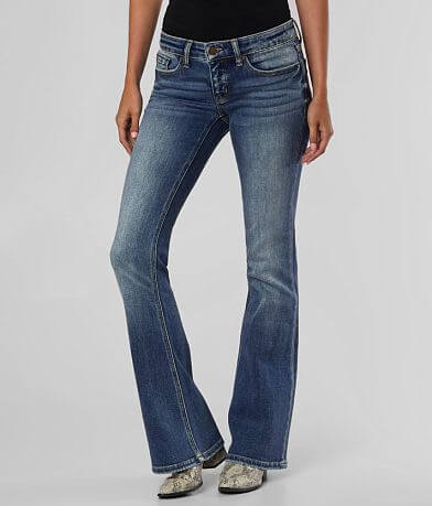 BKE Stella Low Rise Flare Stretch Jean