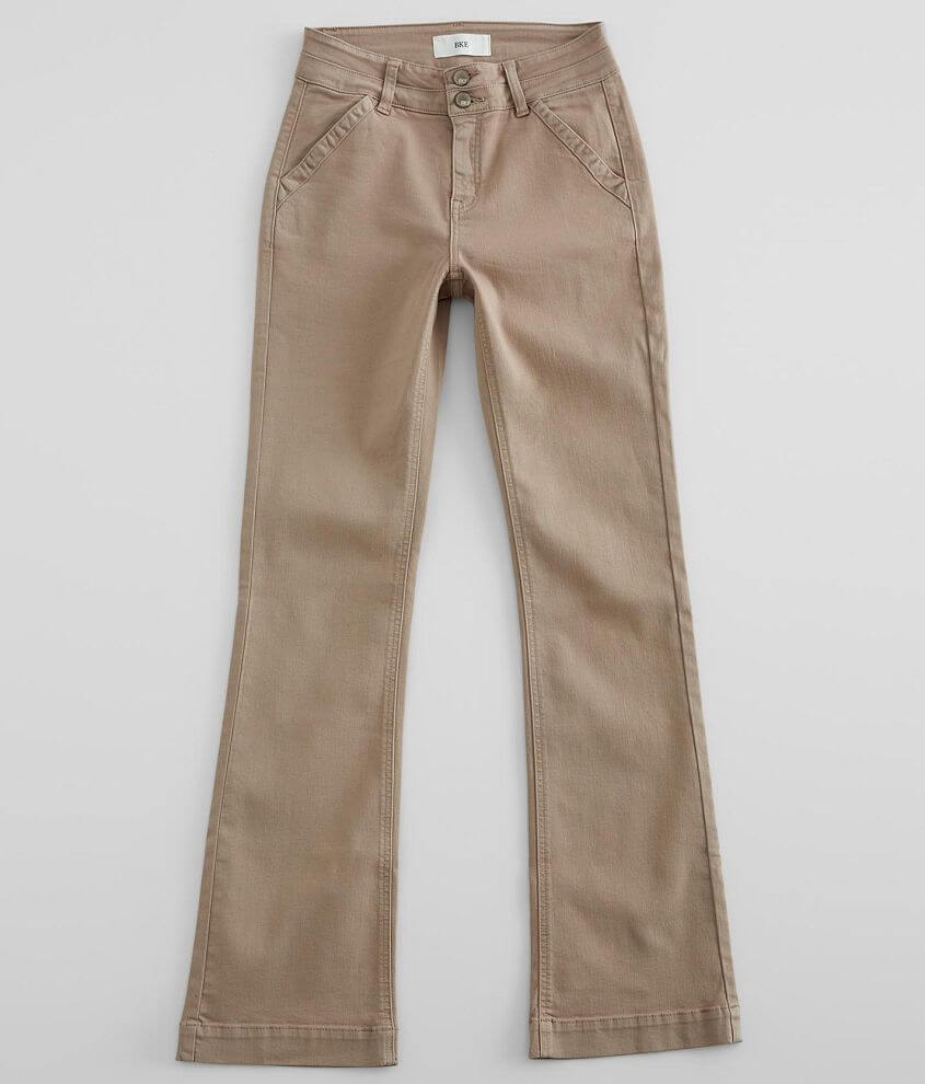BKE Mid-Rise Boot Stretch Pant front view