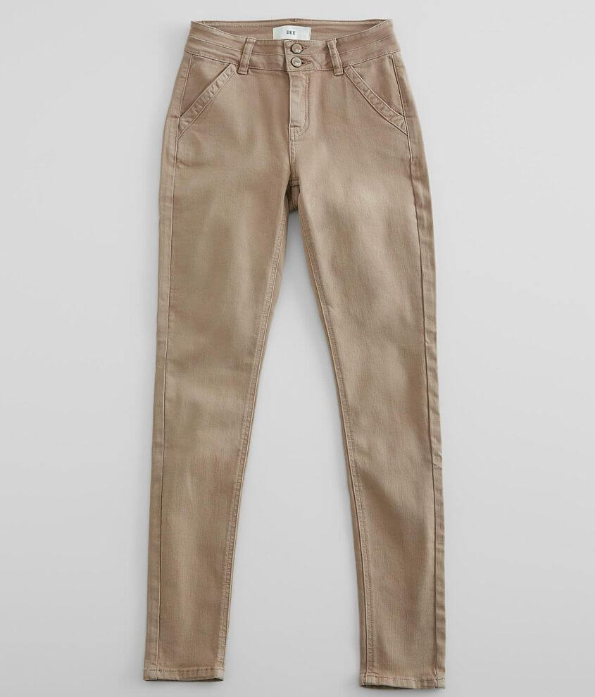 BKE Mid-Rise Skinny Stretch Pant front view