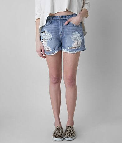 KanCan High Rise Boyfriend Short